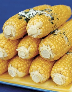 Buttered Corn of the Cob.