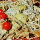Farfalle Pasta with Artichoke Hearts