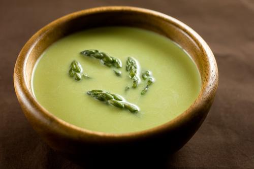 Homemade Cream of Asparagus Soup