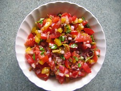 tomato-and-pepper-salsa