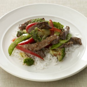 Garlic Beef and Vegetable Stir Fry