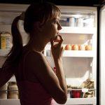 womanlookingintorefrigerator