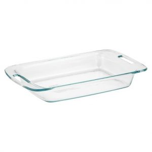 Pyrex 9x13 glass baking dish
