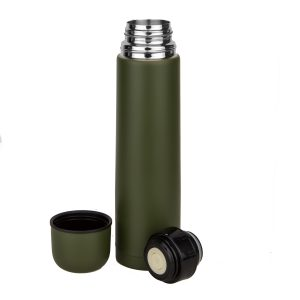 Insulated thermos bottle.