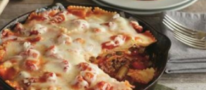 See the layers lust like a traditional lasagna, but much easier.