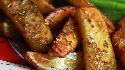 Herb Potato Wedges